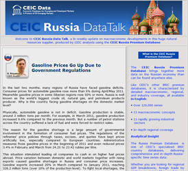 Russia Data Talk