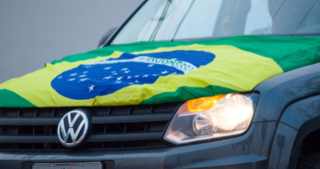 Brazil's motor vehicles sales growth between 2003 and April 2019