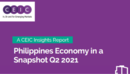 Philippines Economy in a Snapshot Q2 2021 Report